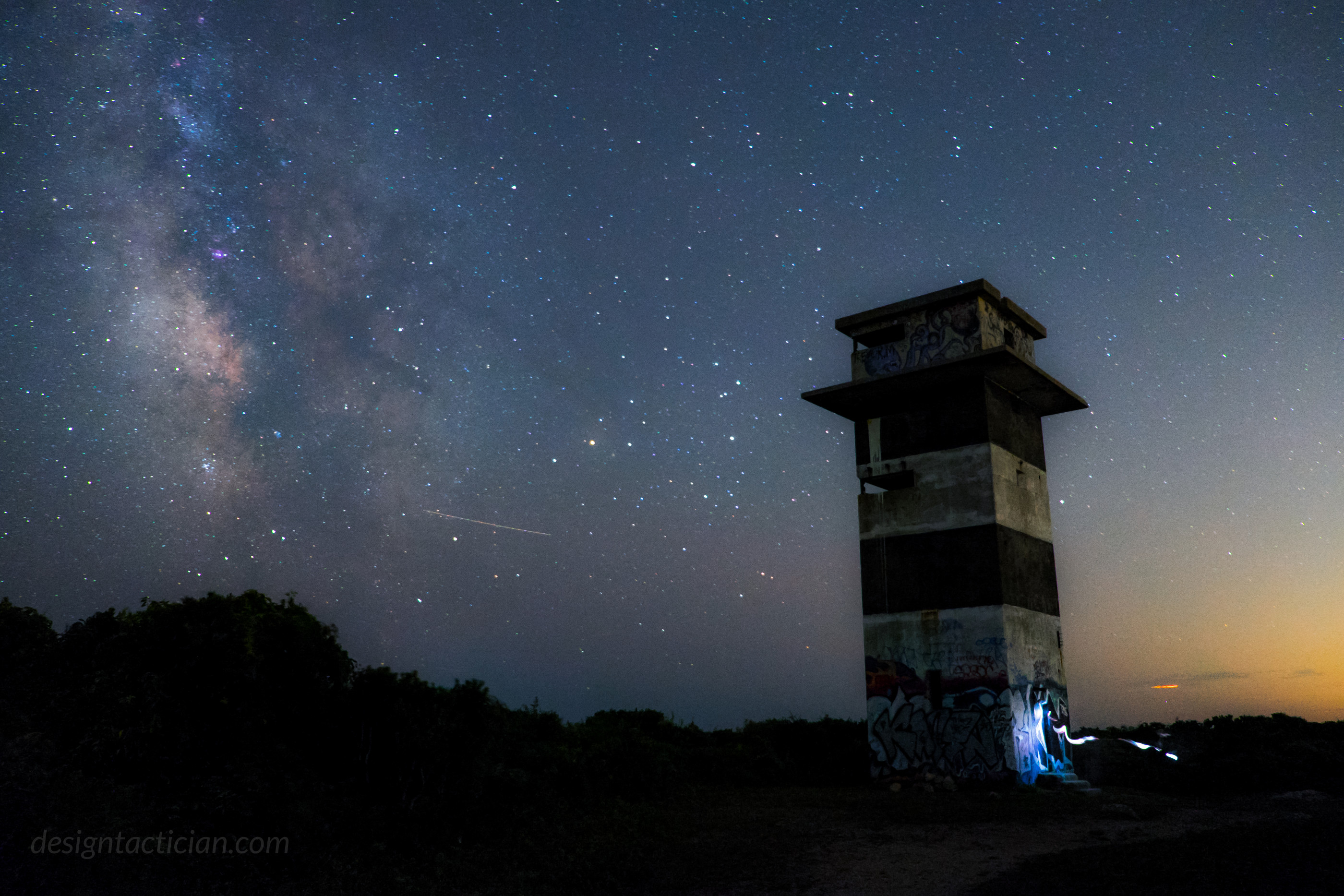 Perseid Meteor Shower – Gooseberry Island, Westport, MA. Midnight Shift Photography